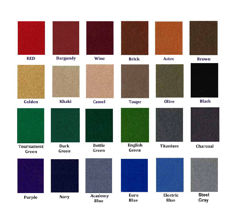 Pool Table Felt Colors 28 Images So Cal Pool Tables