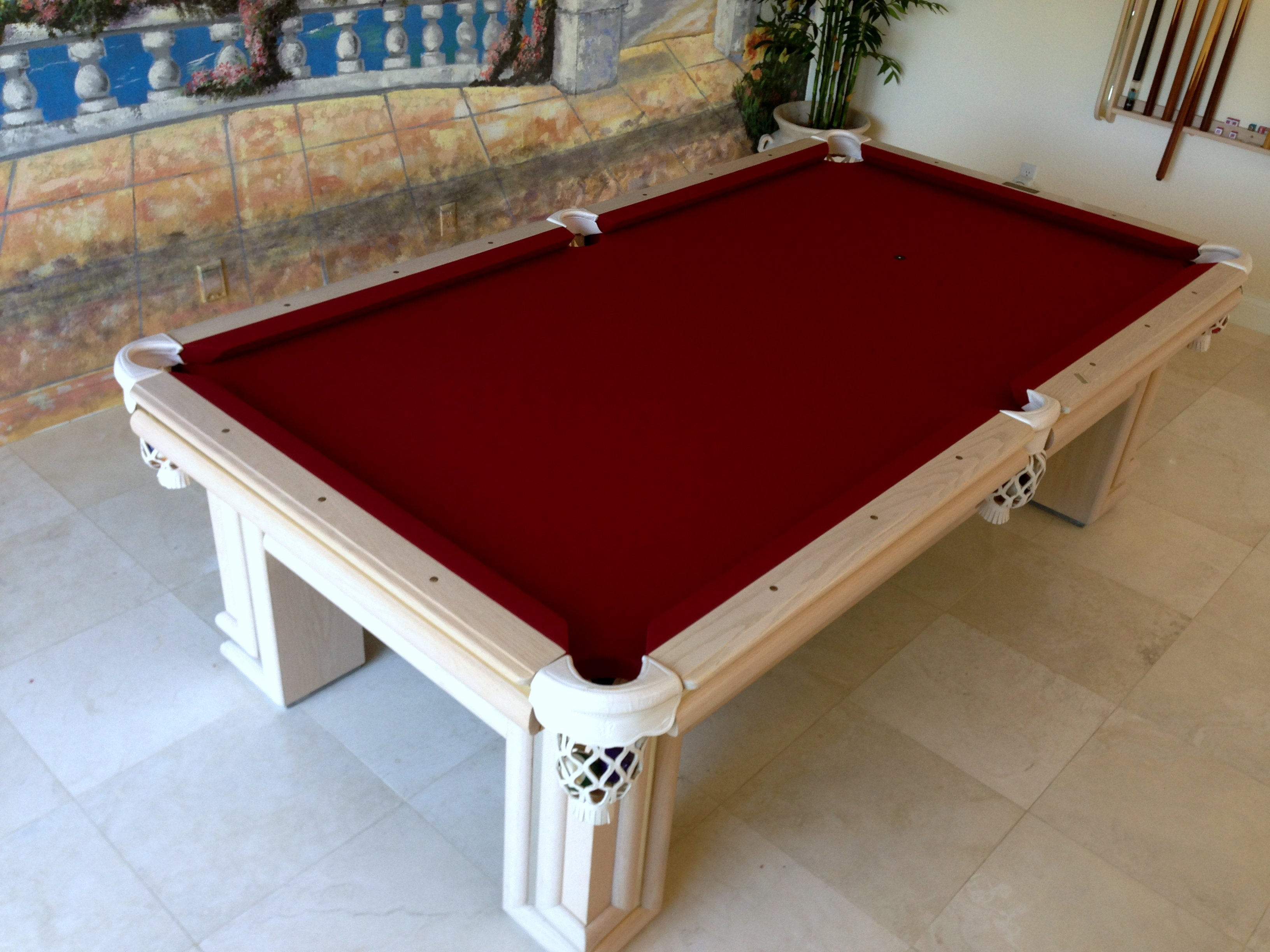 how to take apart a valley pool table