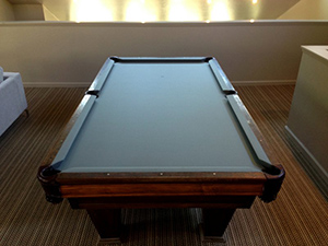 Beau San Leandro Pool Table Instalaltion